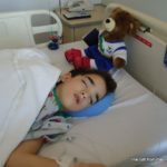 Dave at Children's Hospital in ST. Luis, MO