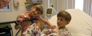 Norman w szpitalu