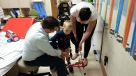 News from Kubus' mom: It took  a while for Kubus to get used to the apparatus attached to his leg. He is 4 and understands a lot but this situation […]